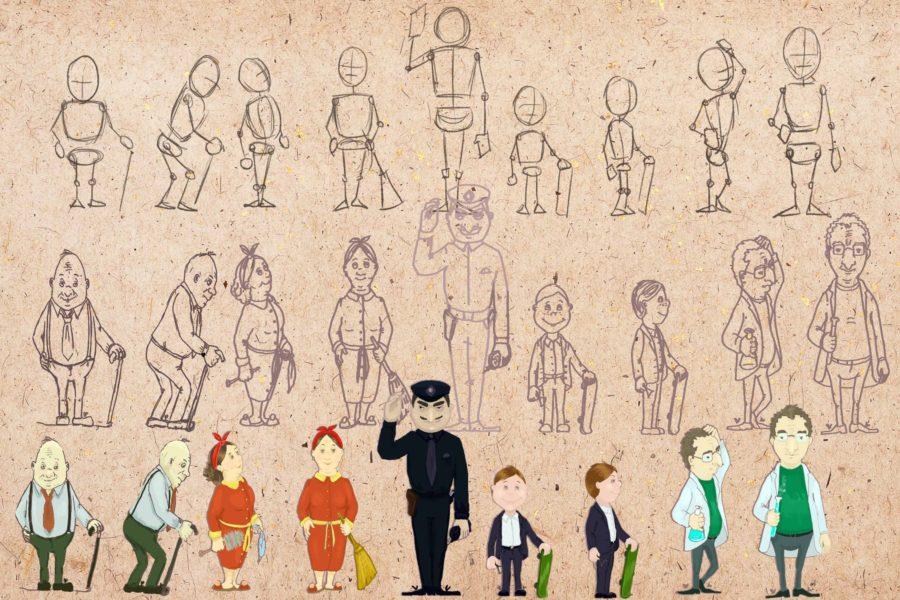 Картинки людей для срисовки карандашом