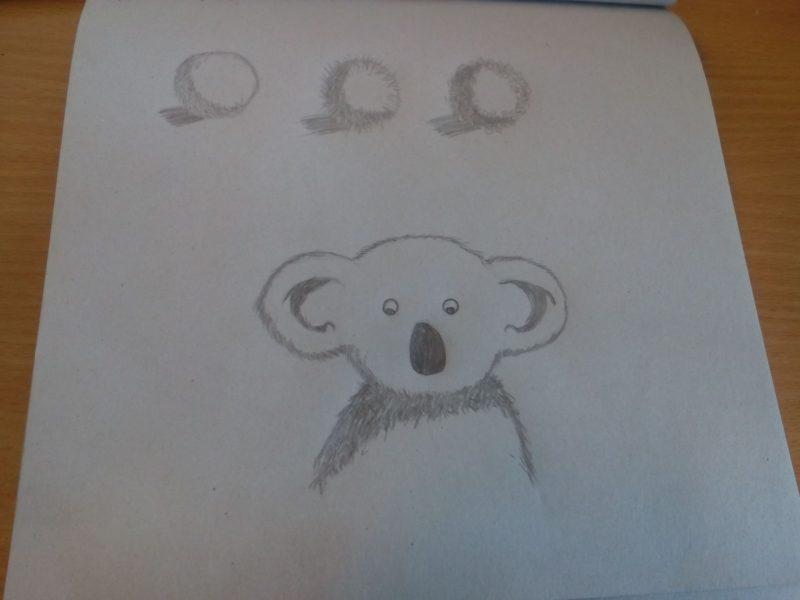 Рисунки фломастерами для срисовки