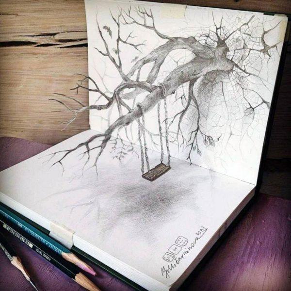 Картинки для срисовки очень легкие и красивые