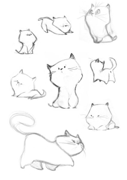 Аниме картинки для срисовки