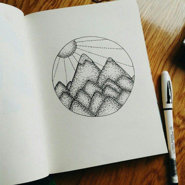 Милые рисунки карандашом для срисовки