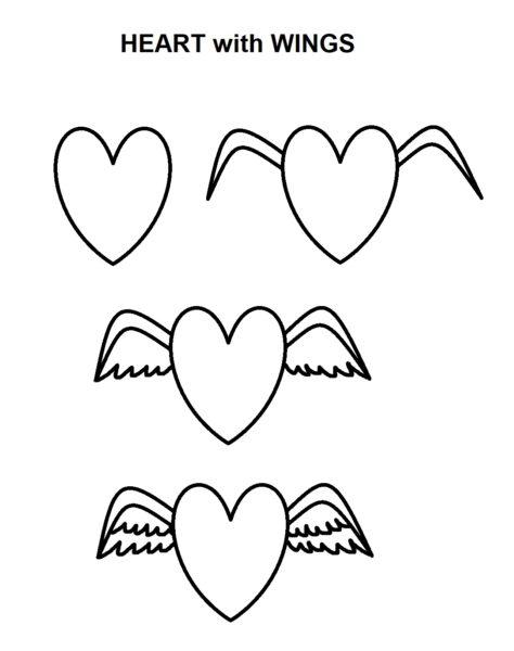 Картинки для срисовки про любовь