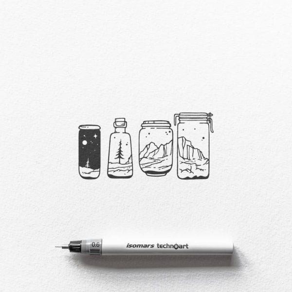 Маленькие картинки для срисовки