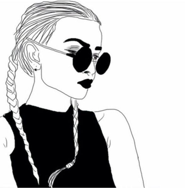 Черно белые картинки для срисовки