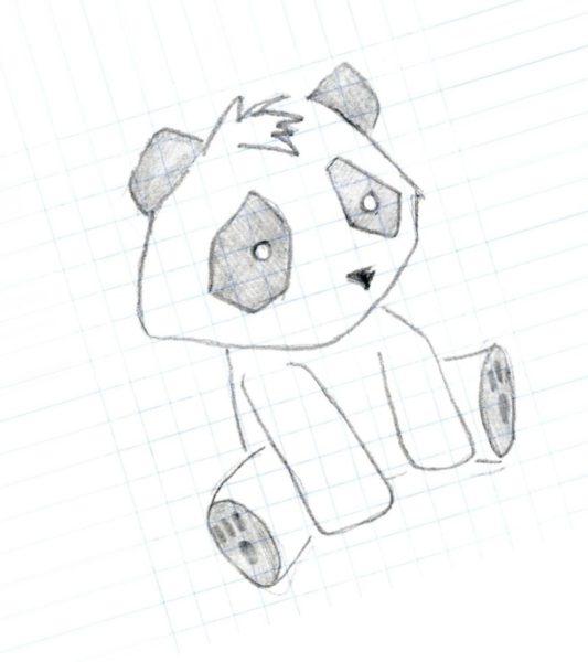 Простые рисунки карандашом для срисовки